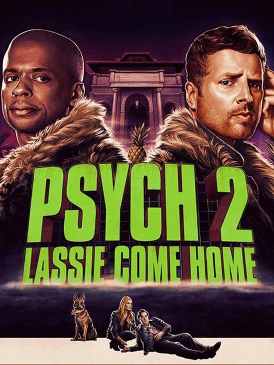 دانلود فیلم Psych 2: Lassie Come Home 2020