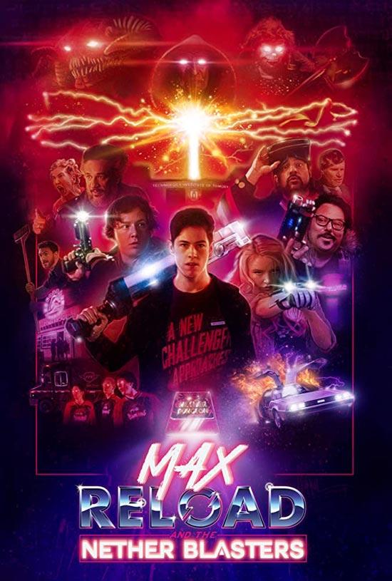 دانلود فیلم Max Reload and the Nether Blasters 2020