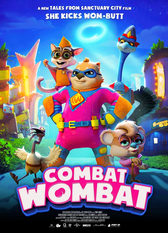 دانلود انیمیشن Combat Wombat 2020