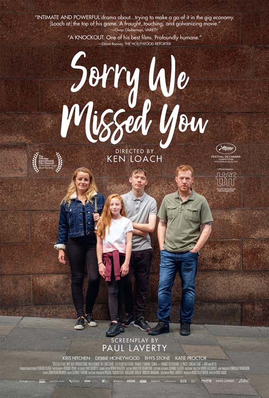 دانلود فیلم Sorry We Missed You 2019