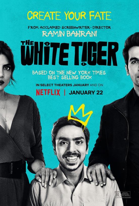 دانلود فیلم The White Tiger 2021