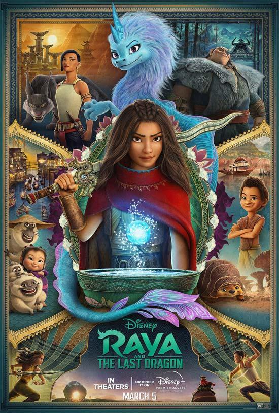 دانلود انیمیشن Raya and the Last Dragon 2021
