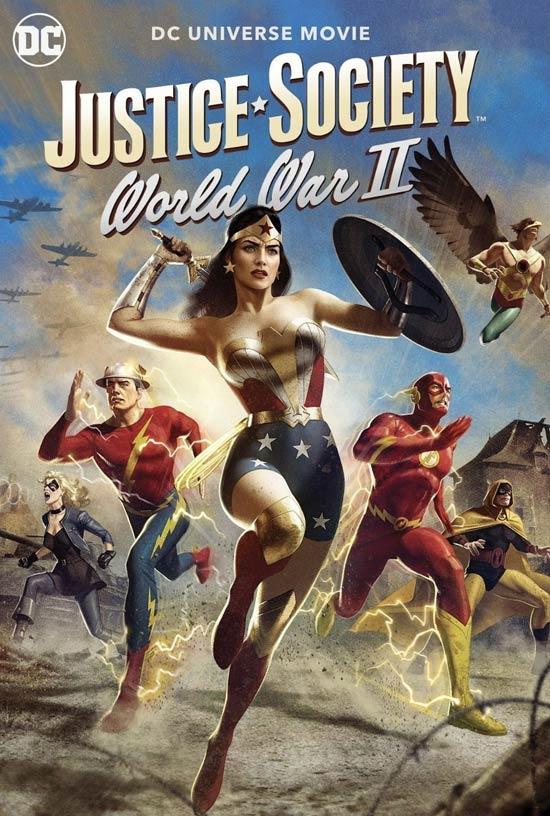 دانلود انیمیشن Justice Society: World War II 2021