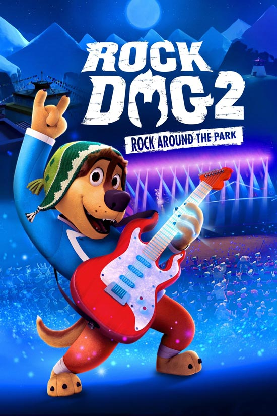 دانلود انیمیشن Rock Dog 2: Rock Around the Park 2021