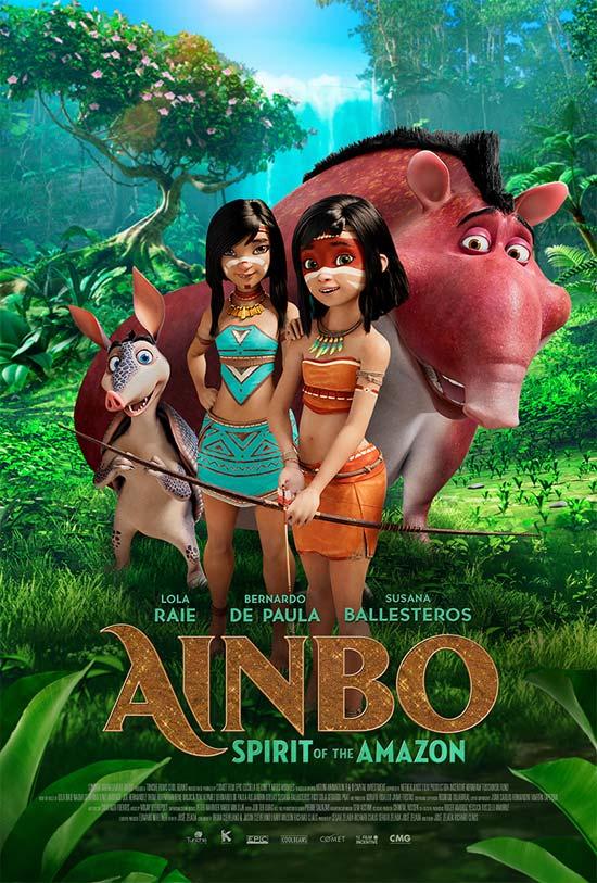 دانلود انیمیشن Ainbo 2021