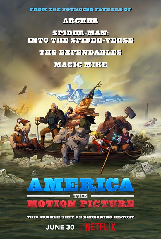 دانلود انیمیشن America: The Motion Picture 2021