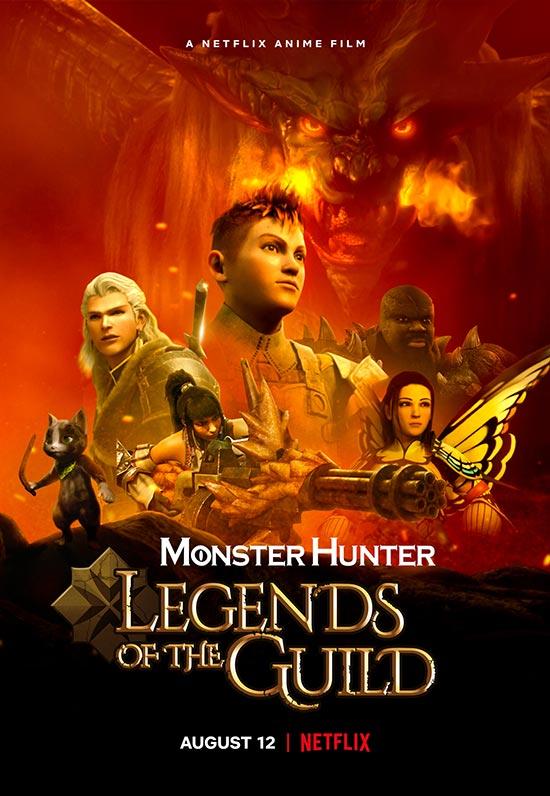 دانلود انیمیشن Monster Hunter: Legends of the Guild 2021